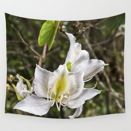 Beautiful butterfly tree bloom Wall Tapestry