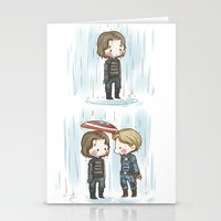 stucky Stationery Cards featuring Rain  by BlacksSideshow