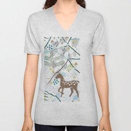 Deers Unisex V-Neck