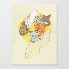 Mammal Fur Canvas Print