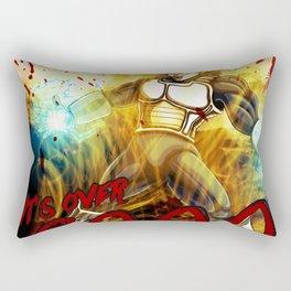 Vegeta Over 9000! Rectangular Pillow