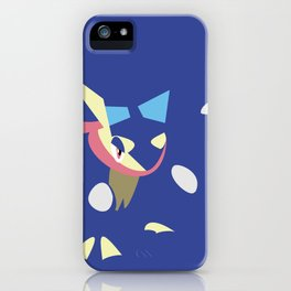 Greninja iPhone Case