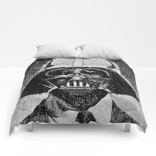 Darth Vader portrait #2 Comforters
