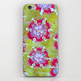 Magenta Calliope Rose iPhone Skin