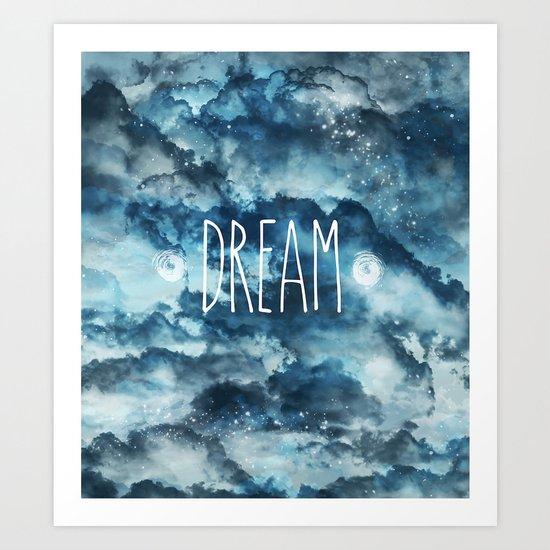 Dream in Blue Art Print
