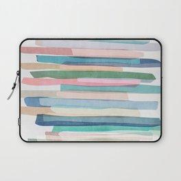 Pastel Stripes 1 Laptop Sleeve