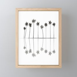 Palm Reflections II Framed Mini Art Print