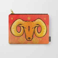 Year of the Ram (distressed) Carry-All Pouch