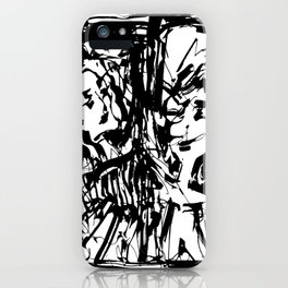 A Dance on the Margin iPhone Case