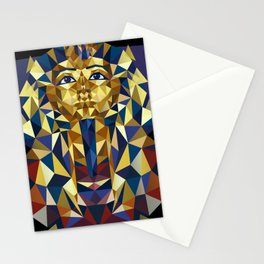 Golden Tutankhamun - Pharaoh's Mask Stationery Cards