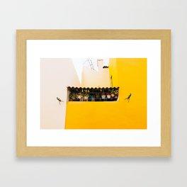 Alfama - Lisbon, Portugal - #4 Framed Art Print