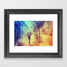 It Will Rain Framed Art Print