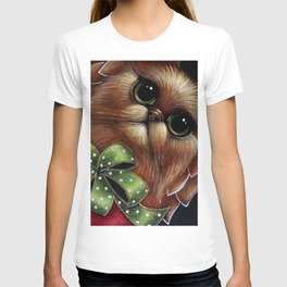 HOLIDAY GINGER PERSIAN ANGEL CAT - YOUR GIFT! T-Shirt
