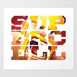 Supercell Art Print