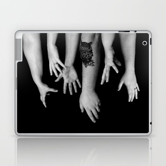 Hands Laptop & iPad Skin