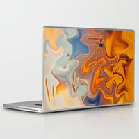 helen Laptop & iPad Skins featuring SKY ON FIRE by Catspaws