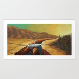 The Unforseen Passage Art Print