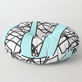 Lazer Dance T Floor Pillow