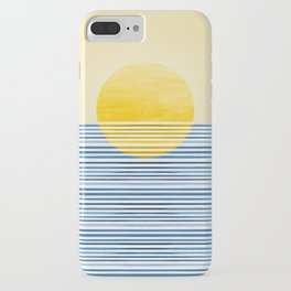 Minimal Summer Sunset iPhone Case