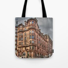 St Vincent Street Meets Hope Street  Tote Bag