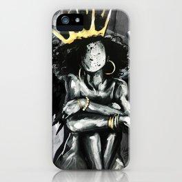 Naturally Queen IX ANGEL iPhone Case