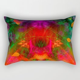 Late September Blooming Thoughts Rectangular Pillow