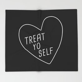 Treat Yo Self Throw Blanket
