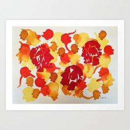 Bright Minds Art Print