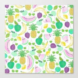 Fruit Punch Retro 2 Canvas Print