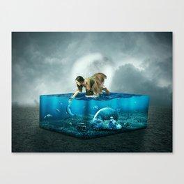 The lost Aquarium Canvas Print