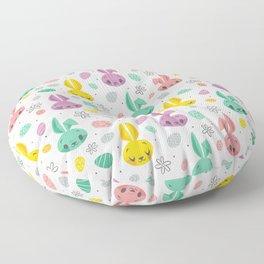 Easter Bunnies Floor Pillow