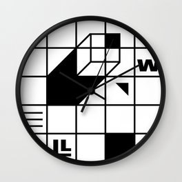 Four Walled World Wall Clock