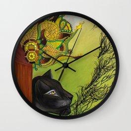Manifestation of Ix Wall Clock