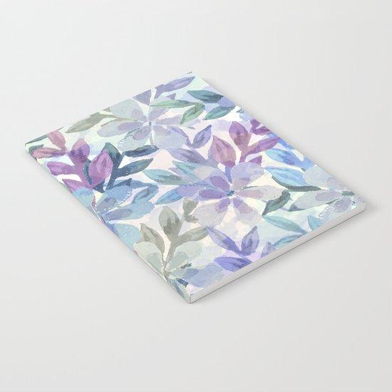 watercolor Botanical garden Notebook