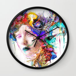 Morning Cocoon Wall Clock
