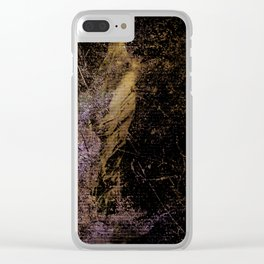JEZEBEL-6-4-Abstract Clear iPhone Case