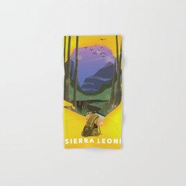 sierra leone Hand & Bath Towel