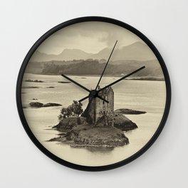 Castle Stalker Wall Clock