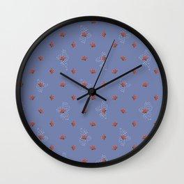 Cacti Flowers Wall Clock