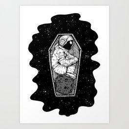 No More Space Art Print