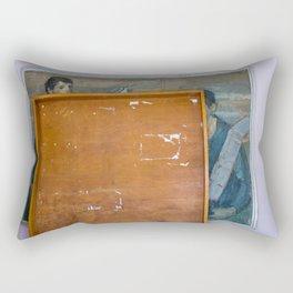 Cover up Rectangular Pillow