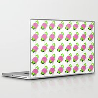 insect Laptop & iPad Skins featuring Flower Insect by KeijKidz