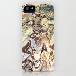Clutch: abstract digital painting iPhone Case