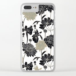 flowers / 64 Clear iPhone Case