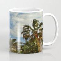 palms Mugs featuring Palms by Magic Emilia