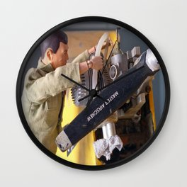 Airplane Mechanic Wall Clock