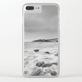 Birnbeck Pier Clear iPhone Case