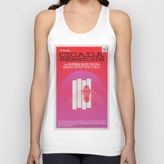 The Cicada Sessions Concert Poster Unisex Tank Top