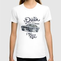 mustang T-shirts featuring Mustang dream by dareba