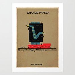 Charlie Parker Art Print